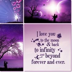 I love you to the moon & back Picture Quotes, Love Quotes, Inspirational Quotes, What Is Love, Love You, Collages, Mood Colors, Color Collage, Beautiful Collage