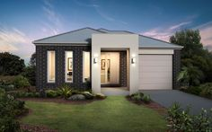 Metricon Home Designs: The Torrens - Metro Facade. Visit www.localbuilders.com.au/builders_victoria.htm to find your ideal home design in Victoria