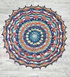 Hi… Mandala Pattern, Mothers Love, Free Crochet, Ravelry, Dream Catcher, Beach Mat, Crochet Patterns, Outdoor Blanket, Presents