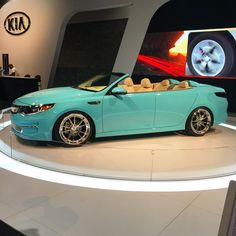 Thoughts on the 2016 Kia Optima Concept? Gorgeous color, suicide doors, and topless...something for the wifey?😁 #kia #optima #concept #2016 #suicidedoors #beautiful #cars #love #blue #carstagram #carporn #new #follow #followme #carshow #blacklist #aias #wheels #horsepower #speed #topless #convertible #atlanta #atl #ga #georgia