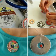 MORE washer jewelry ideas!