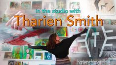 In the studio with THARIEN SMITH