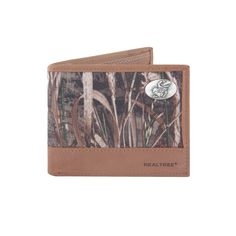 Realtree Kansas Jayhawks Pass Case Wallet, Men's, Green