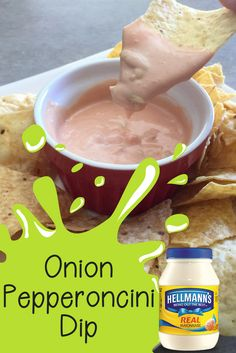 The Secret Ingredient to Great Tailgate Fun with Hellmann's Party Dip Recipes, Best Appetizer Recipes, Quick Appetizers, Finger Food Appetizers, Appetizer Dips, Appetizers For Party, Dessert Recipes, Mini Sandwiches, Perfect Food