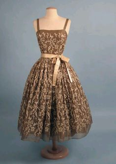 1955 party dress