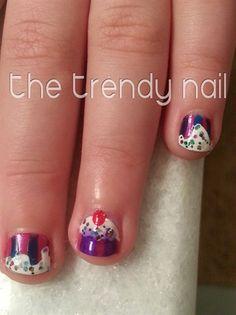 Nail art from the NAILS Magazine Nail Art Gallery, hand-painted, cupcake nails, kids nail art, Birthday Nail Art, Nail Art For Kids, Kid Cupcakes, Nail Art Galleries, Nails Magazine, Trendy Nails, My Nails, Nail Designs, Hand Painted