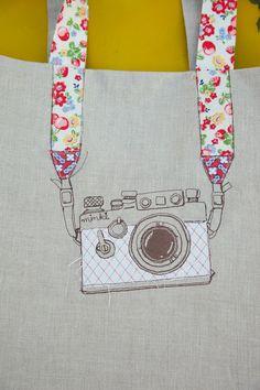 """CAMERA"" bag -- inspired!"