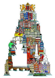 City ABC - Hugo Yoshikawa - Illustration