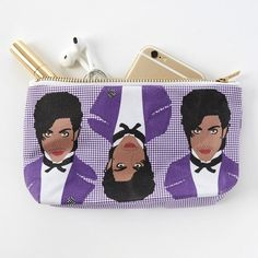 Fancy   Prince Pop Zipper Pouch and Makeup Bag