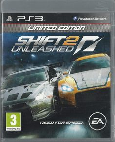PLAYSTATION 3 ps3 Shift 2: Unleashed -- Limited Edition