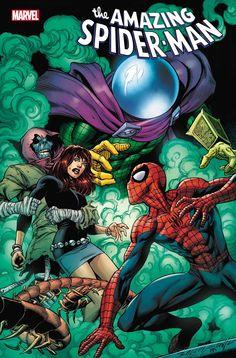 The Amazing Spider-Man vol 5 #74 | Variant cover art by Mark Bagley, John Dell & Brian Reber Comics For Sale, Fun Comics, Marvel Comics, Best Comic Books, Comic Books Art, Spider Man 2018, Comic Prices, Mark Bagley, Comic Store