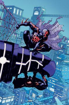 Spider-Man 2099 and Superior Spider-Man by Ryan Stegman