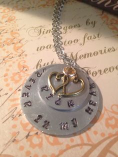 A personal favorite from my Etsy shop https://www.etsy.com/listing/271665996/memory-forever-in-my-heart-necklace