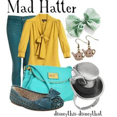 Mad Hatter, created by disneythis-disneythat on Polyvore