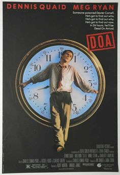 D. O. A. Original Movie Posters, Film Posters, Dennis Quaid Movies, Meg Ryan Movies, Arrival Movie, Touchstone Pictures, Dead On Arrival, Crime Film, Best Horror Movies