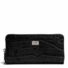 #Coach #CoachBags The Coach Madison Accordion Zip in Croc Embossed Leather Cheap Coach Handbags http://www.ashpants.com/cheap-coach-handbags