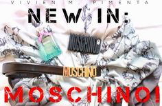 New Blog Post!! :D PassionePerLaModa: New In: Moschino!