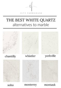 The Best White Quartz Alternatives To Marble - Decoration Tips Quartz Kitchen Countertops, White Countertops, Kitchen Cabinets, Kitchen Sink, Quartz Countertops Colors, Soapstone Kitchen, White Granite, Kitchen Tables, Concrete Countertops