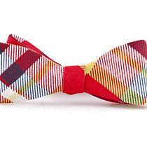 Mucha wiązana ARANJUEZ kratka, akcesoria - muszki & krawaty