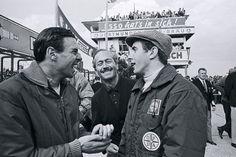 Jim Clark, Jackie Stewart and Colin Chapman