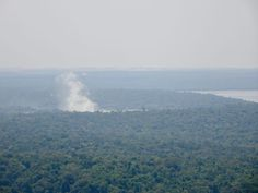 Iguazu Falls from the plane when landing on the Argentinian side Iguazu Falls, Niagara Falls, South America, Landing, Plane, Mountains, Nature, Travel, Airplane