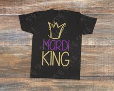 Mardi King Cut File in SVG, EPS, DXF, JPEG, and PNG