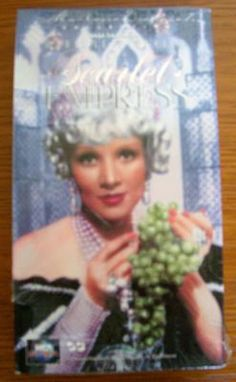 SCARLET EMPRESS MARLENE DIETRICH SAM JAFFE JOHN LODGE 1934 VHS