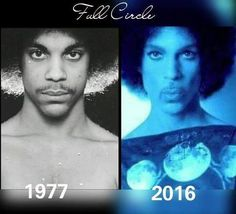 Prince still rocking the fro almost forty years later.