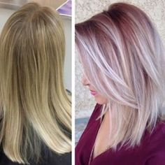 We just love pro to pro #transformations, this one found @bobandpage. For the how to, go to MODERNSALON.com and search Kristen Kologie.