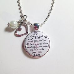 WEDDING MOTHER of GROOM Personalized by AnnmarieJewelryTree
