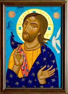 Maryana Flyak - Christ icon
