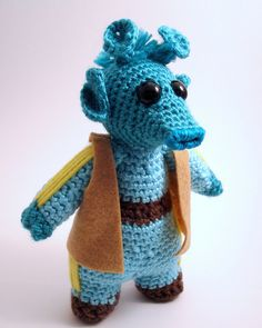 Next on my Star Wars Crochet list, if I can figure out the head shaping...