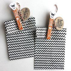 Skeleton Gift Bags by Heather Nichols for Papertrey Ink (August 2015)