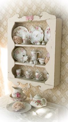 A personal favorite from my Etsy shop https://www.etsy.com/listing/263040817/shabby-wall-curio-cabinetcupboarddisplay