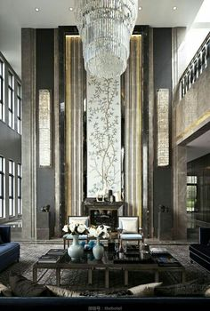penthouse new york city by juan montoya design | (k) art deco, Innenarchitektur ideen