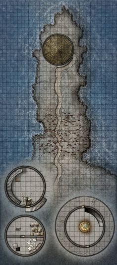 fantasy map - lighthouse                                                                                                                                                                                 More