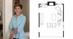 Designer Teresa Buchanan updates a tired family room for our House Calls column.
