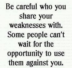 Sadly, this is SO true ... I'm so sad and disappointed when people I trust or trusted do this.