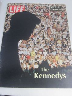 Any of us who lived through the sixties will never forget the assassinations of JFK and his brother Bobby. Here in #LifeMagazine #TheKennedys Special Memorial Edition published in 1968, you can see a pictorial history of both brothers with photos from the greatest photographers of the era. #Jackie, Ethel, Teddy - all are shown in poignant images.