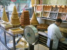 Damascus Local bakery full of sweets 180 days.