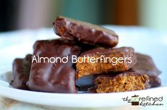 Almond Butterfingers | The Unrefined Kitchen | Paleo & Primal Recipes