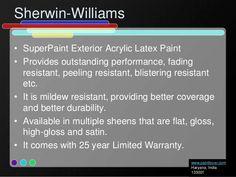 SuperiorPaint Exterior Acrylic Latex Paint for Vinyl Shutters
