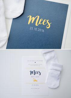 Eerlijk? Ik ben weg van Mees' kaartje! De kleurencombinatie, het simpele design én het Oud Hollandse papier; het is een plaatje niet waar?! Aangezien Erik met auto's werkt verwerkten we…