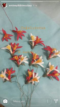 This post was discovered by Ba Needle Tatting, Tatting Lace, Needle Lace, Thread Painting, French Knots, Freeform Crochet, Lace Making, Baby Knitting Patterns, Diy Crafts