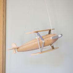 Suspension avion en bois largeur 40cm Avion