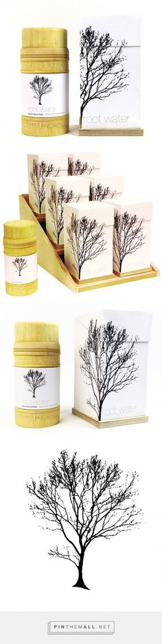 Root Water via InspirationDaily by Elissa Jarosz, USA curated by Packaging Diva PD. Love this brand that goes by its name. Product is to keep the full circle of recycling and planting trees going with each bottle having a seed within the bottom. Before planting, the bottle should be filled with water and then buried within 3 inches below the surface.