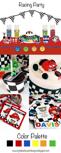 Racing party theme