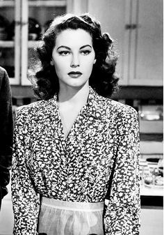 kittypackards: Ava Gardner in 3 Men in White (1944)