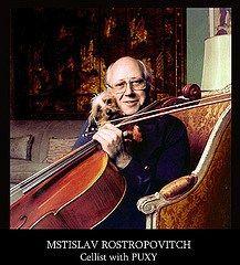 Mstislav and his dog