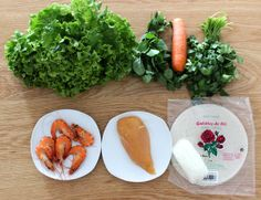 ingredients rouleaux de printemps ilovedoityourself
